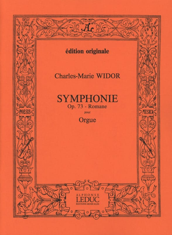 Charles-Marie Widor - Roman Symphony Opus 73. - Partition - di-arezzo.co.uk