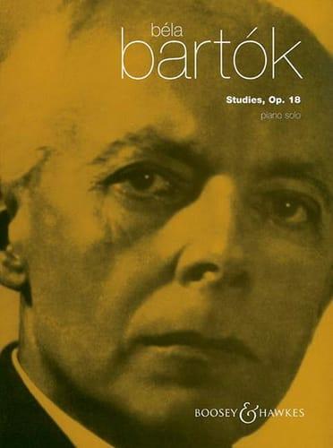 Etudes Opus 18 - BARTOK - Partition - Piano - laflutedepan.com