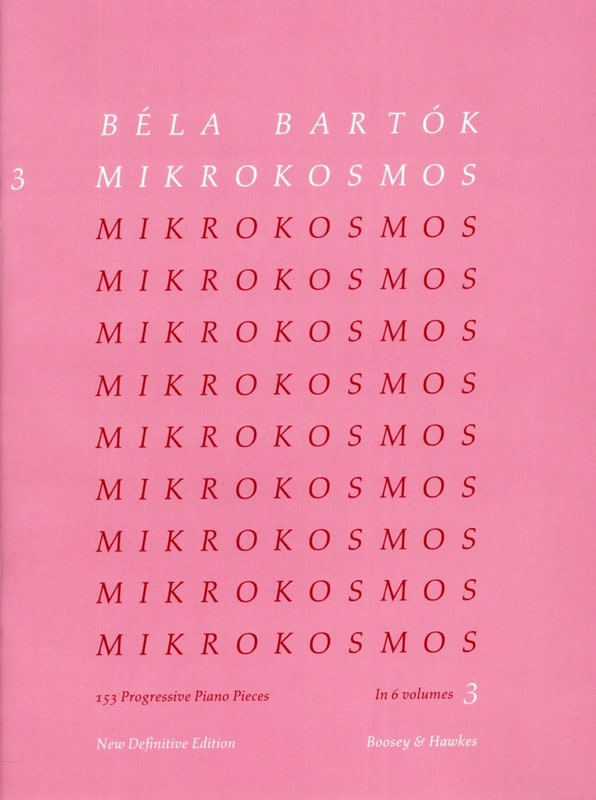 BARTOK - Mikrokosmos Volume 3 - Partition - di-arezzo.co.uk