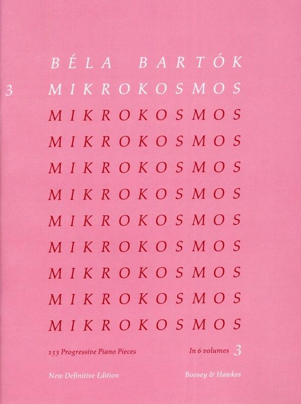 BARTOK - Mikrokosmos Volume 3 - Partition - di-arezzo.ch