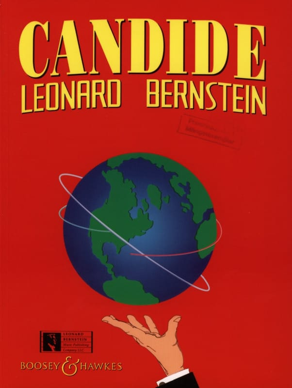 Leonard Bernstein - Candide Scottish Opera Vers. - Partition - di-arezzo.co.uk