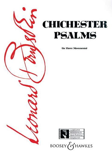 Chichester Psalms. Conducteur - BERNSTEIN - laflutedepan.com