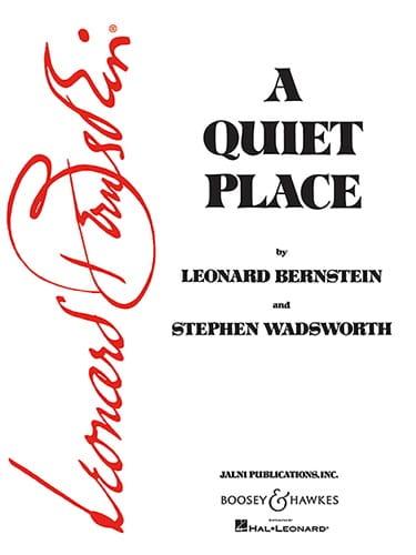 Leonard Bernstein - A Quiet Place - Partition - di-arezzo.co.uk