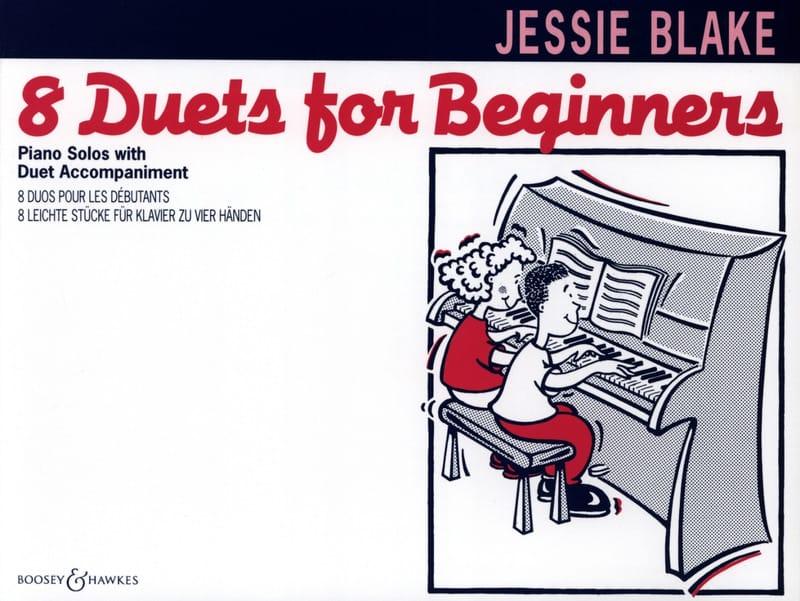8 Duets For Beginners - Jessie Blake - Partition - laflutedepan.com