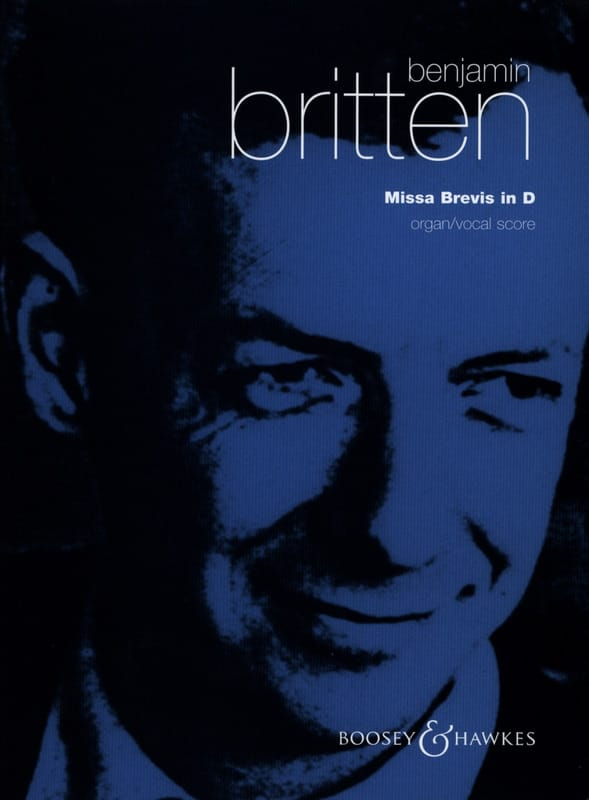 Benjamin Britten - Missa Brevis In D Opus 63 - Partition - di-arezzo.co.uk