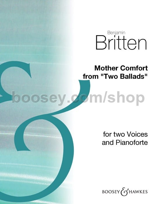 Mother Comfort - BRITTEN - Partition - Duos - laflutedepan.com