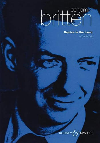 Benjamin Britten - Rejoice In The Lamb Opus 30 - Partition - di-arezzo.co.uk