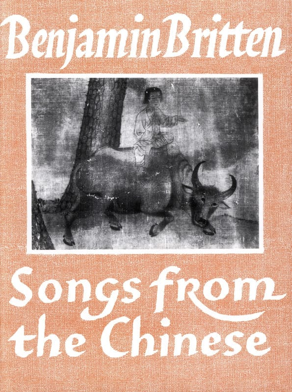 Songs From The Chinese Opus 58 - Benjamin Britten - laflutedepan.com
