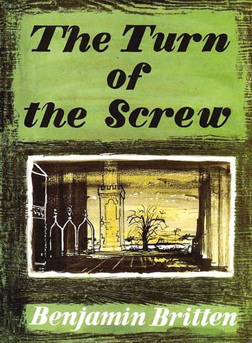 The Turn Of The Screw Opus 54 - BRITTEN - Partition - laflutedepan.com