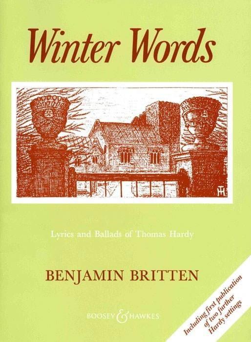 Winter Words Opus 52 - BRITTEN - Partition - laflutedepan.com