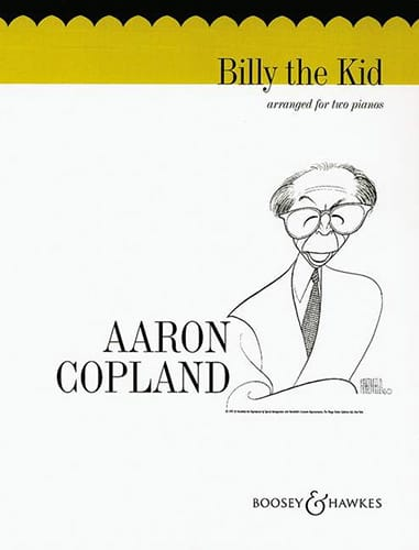 Billy The Kid. 2 Pianos - COPLAND - Partition - laflutedepan.com