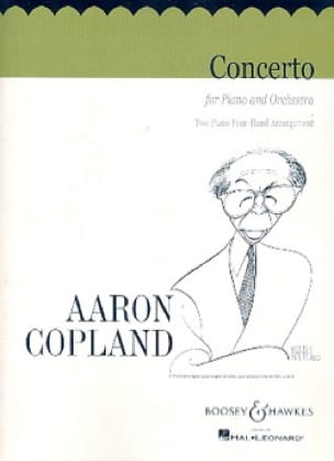 Aaron Copland - Piano Concerto - Partition - di-arezzo.co.uk