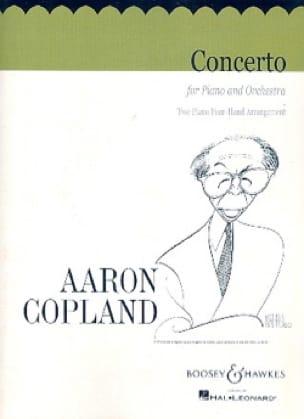 Aaron Copland - Piano Concerto - Partition - di-arezzo.co.uk
