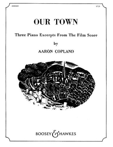 Aaron Copland - Our Town - Partition - di-arezzo.co.uk