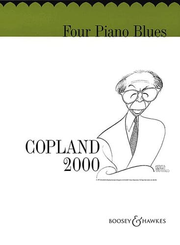 Aaron Copland - 4 Piano Blues - Partition - di-arezzo.co.uk