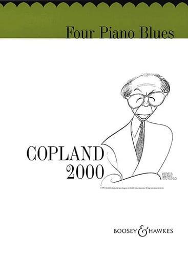 4 Piano Blues - COPLAND - Partition - Piano - laflutedepan.com