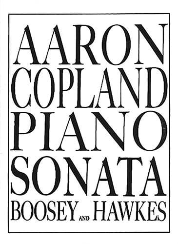 Aaron Copland - Sonata - Partition - di-arezzo.co.uk