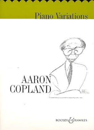 Aaron Copland - Piano Variations - Partition - di-arezzo.co.uk