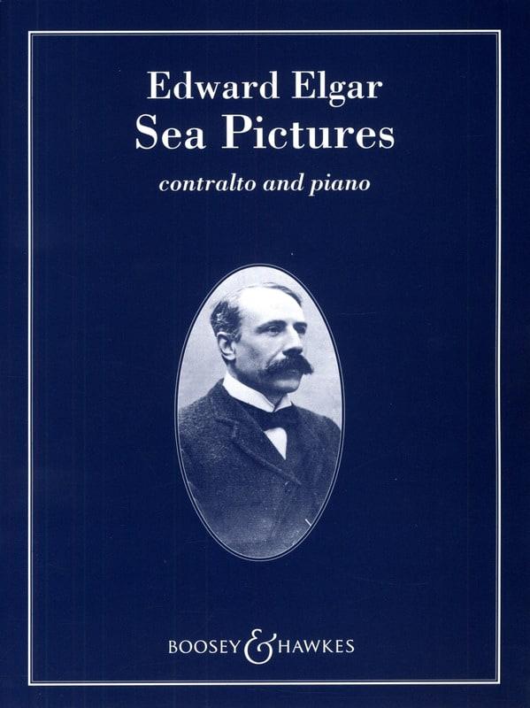Sea Pictures Opus 37 - ELGAR - Partition - Mélodies - laflutedepan.com