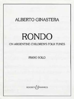 Alberto Ginastera - Rondo - Partition - di-arezzo.co.uk
