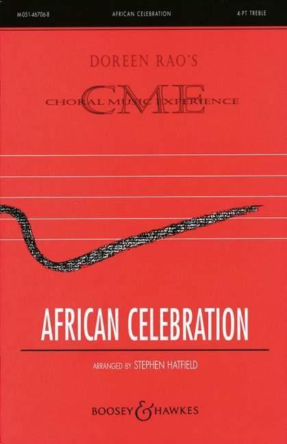 African Celebration - Stephen Hatfield - Partition - laflutedepan.com