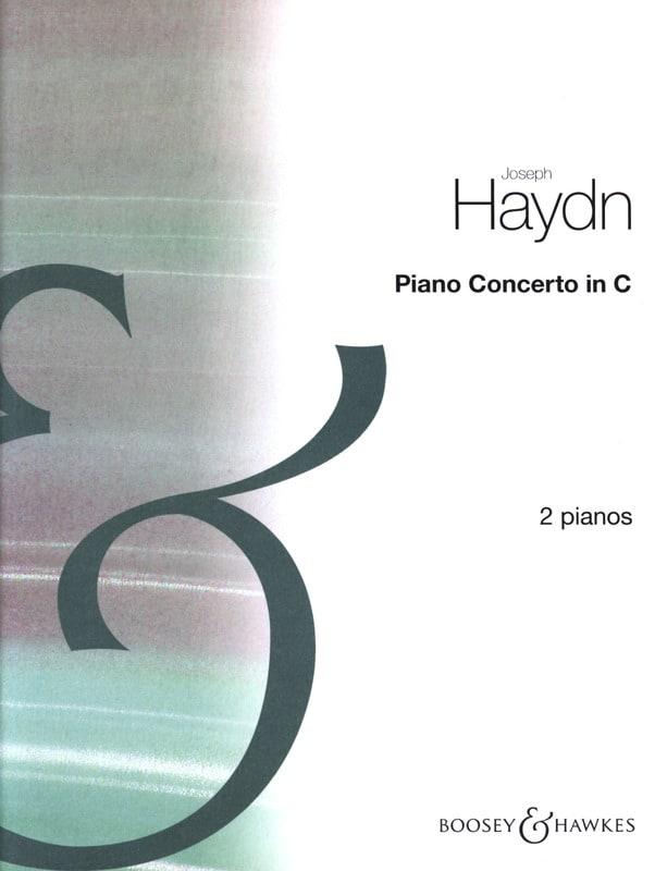 Concerto En Ut Majeur - HAYDN - Partition - Piano - laflutedepan.com