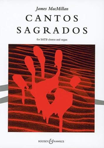 Cantos Sagrados - James MacMillan - Partition - laflutedepan.com
