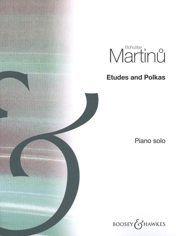 Bohuslav Martinu - Studies and Polkas - Partition - di-arezzo.co.uk