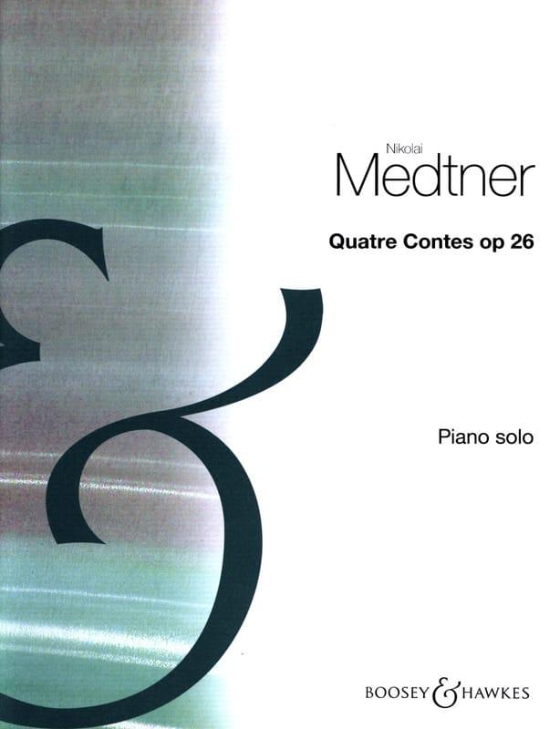 Nicolai Medtner - 4 Tales Opus 26 - Partition - di-arezzo.es