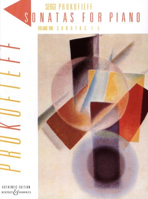 Sergei Prokofiev - Sonates pour piano. Volume 1 - Partition - di-arezzo.ch