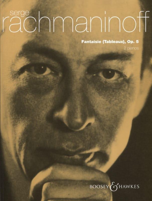 RACHMANINOV - Fantasy Paintings Opus 5. 2 Pianos - Partition - di-arezzo.co.uk