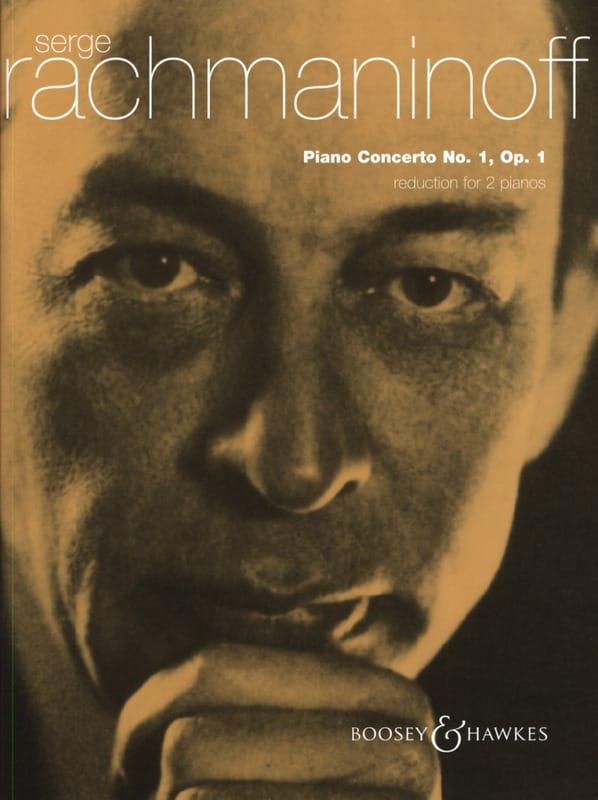 RACHMANINOV - Piano Concerto No. 1 Opus 1 - Partition - di-arezzo.co.uk