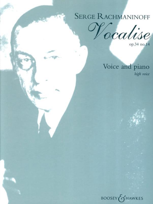 Vocalise Opus 34-14. Soprano - RACHMANINOV - laflutedepan.com