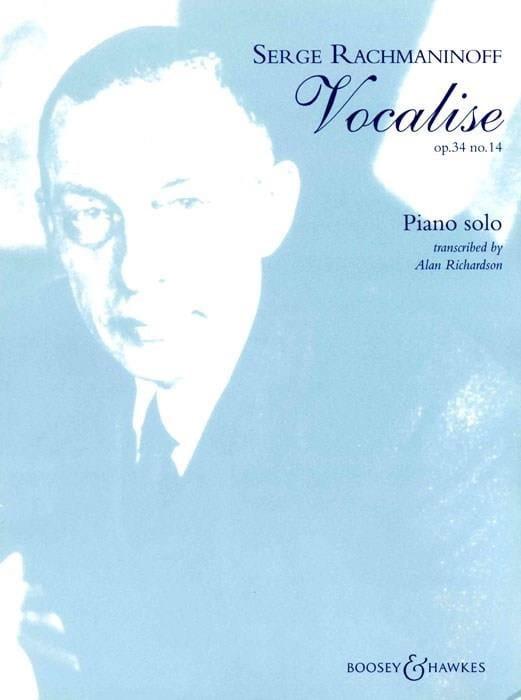 Vocalise Opus 34-14. Piano - RACHMANINOV - laflutedepan.com