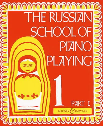 Nikolaev - Russian School Playing Piano Volume 1 Part 1 - Partition - di-arezzo.co.uk