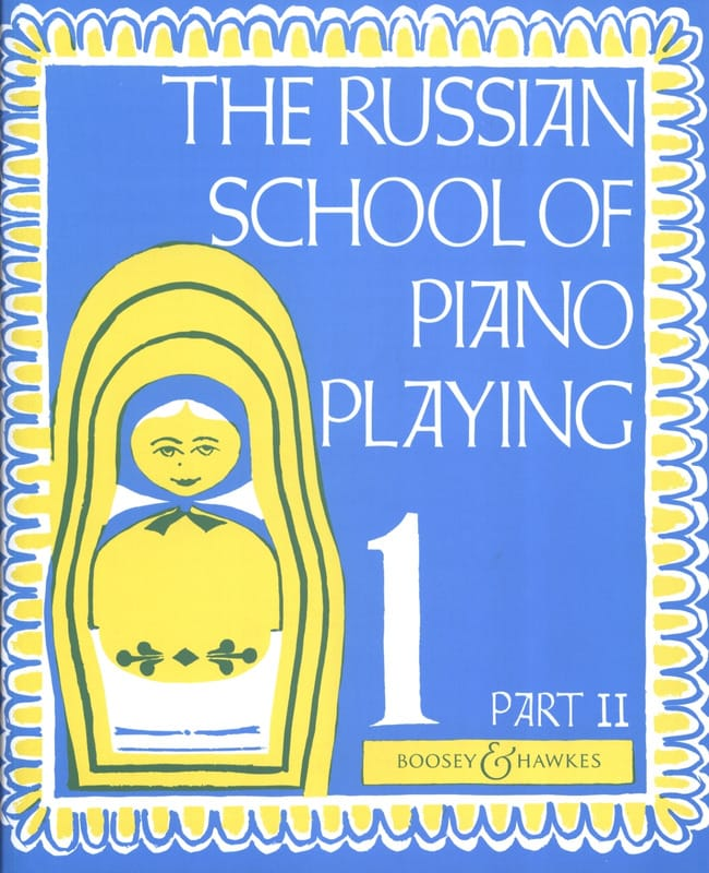 Nikolaev - Russian School Playing Piano Volume 1 Part 2 - Partition - di-arezzo.co.uk
