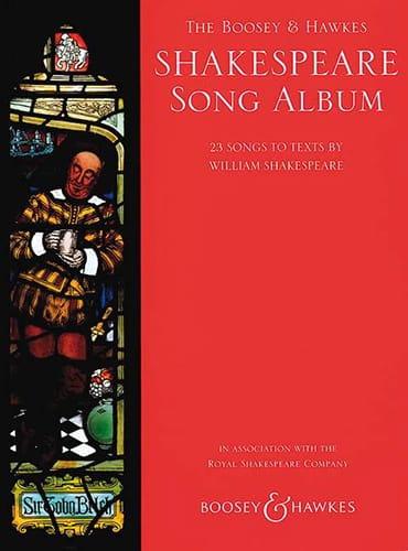 Shakespeare Song Album - Partition - Mélodies - laflutedepan.com