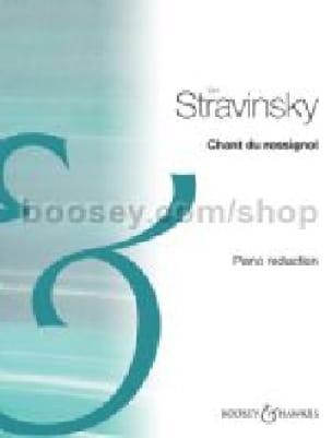 Chant Du Rossignol - Igor Stravinski - Partition - laflutedepan.com