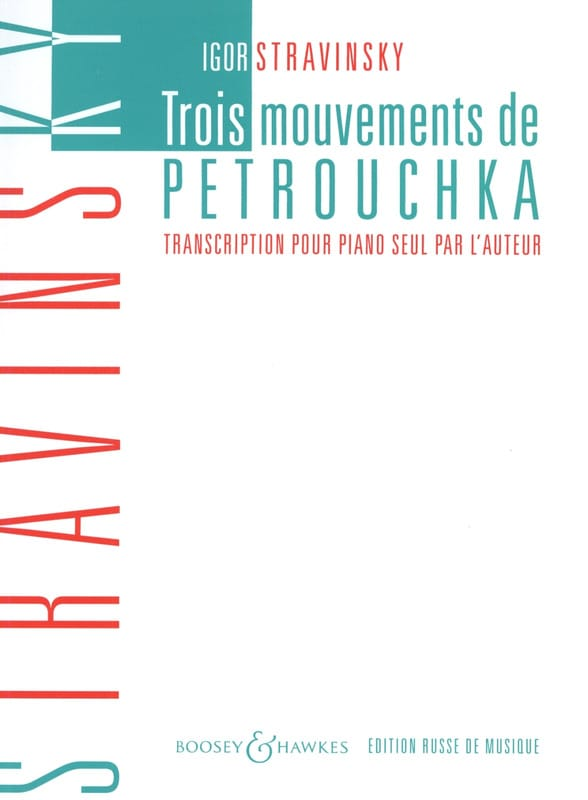 Igor Stravinski - 3 Petrushka Movements - Partition - di-arezzo.co.uk