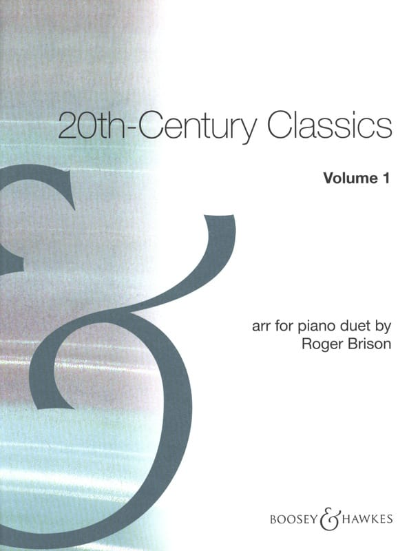 - 20th Century Classics. Volume 1. 4 hands - Partition - di-arezzo.co.uk