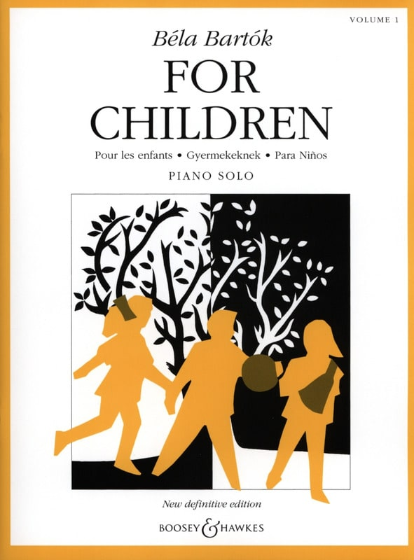 BARTOK - For Children Volume 1 - Partition - di-arezzo.fr