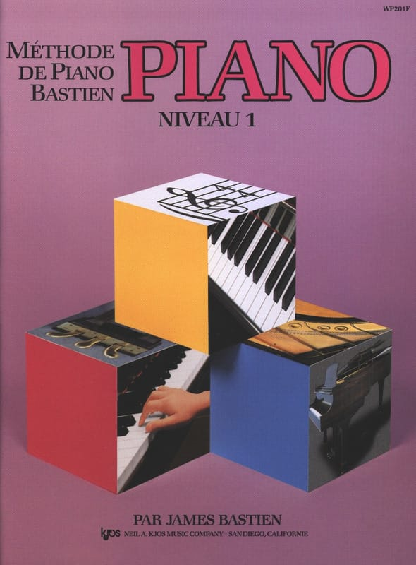 BASTIEN - Bastien Piano Method - Level 1 - Partition - di-arezzo.com