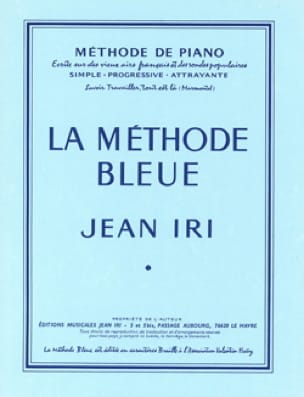 Jean Iri - The blue method - Partition - di-arezzo.co.uk