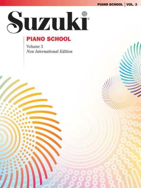 Suzuki - Suzuki Piano School New International Edition Volume 3. - Partition - di-arezzo.co.uk