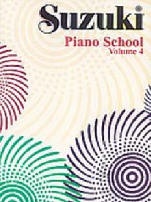 Suzuki - Suzuki Piano School Volume 4 - Partition - di-arezzo.co.uk