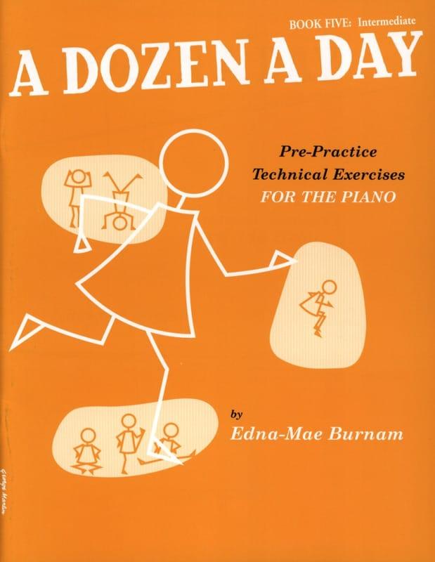 A Dozen A Day Volume 5 en Anglais - Partition - laflutedepan.com