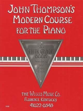 Modern Course for the Piano - Volume 5 - laflutedepan.com
