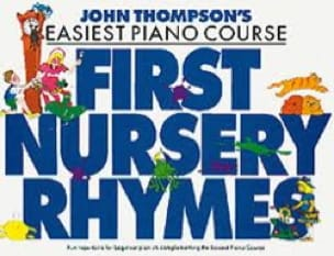John Thompson - First Nursery Rhymes - Partition - di-arezzo.com