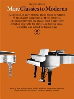 More Classics To Moderns Volume 5 - Partition - laflutedepan.com