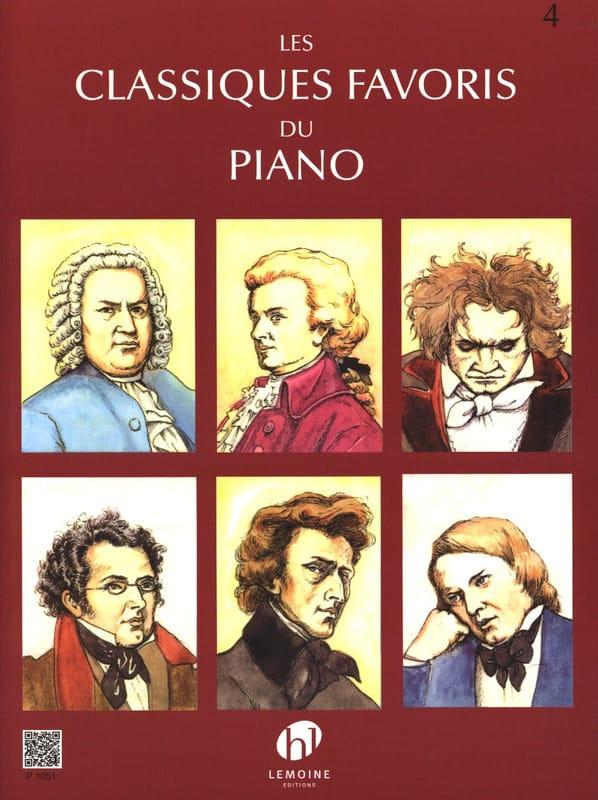 Classiques Favoris Volume 4 - Partition - laflutedepan.com